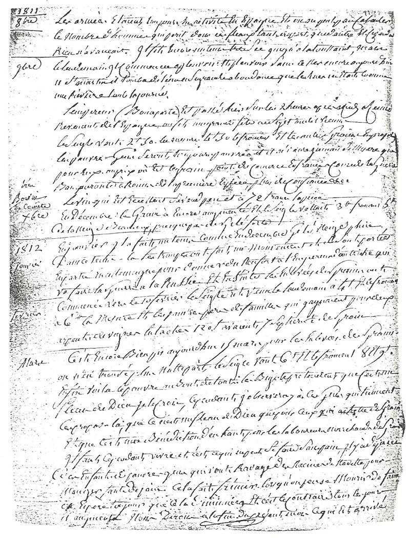 Ecrits 1812